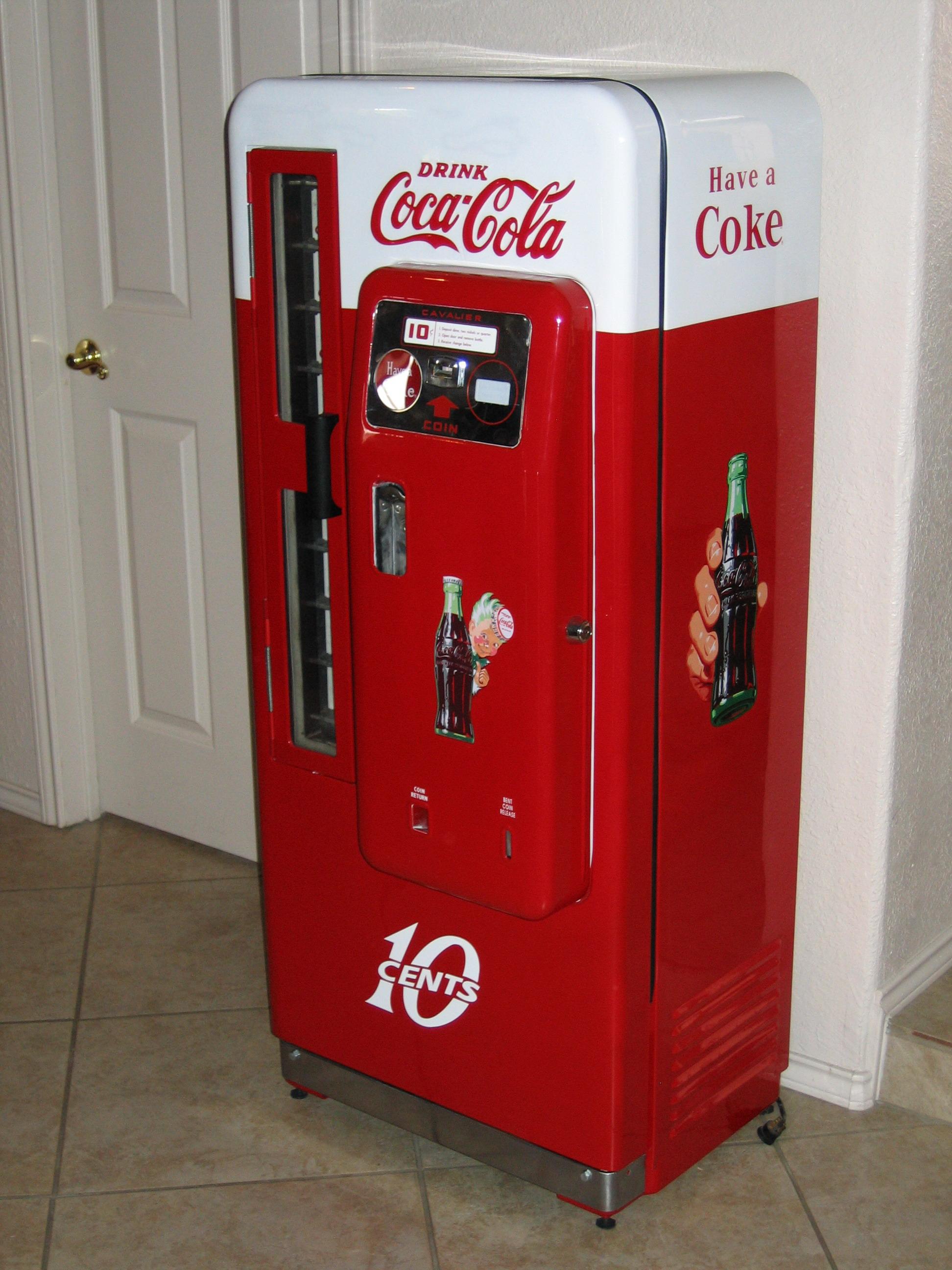 style coke machine